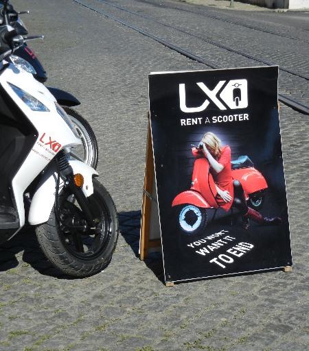 Werbewelt-Scooter