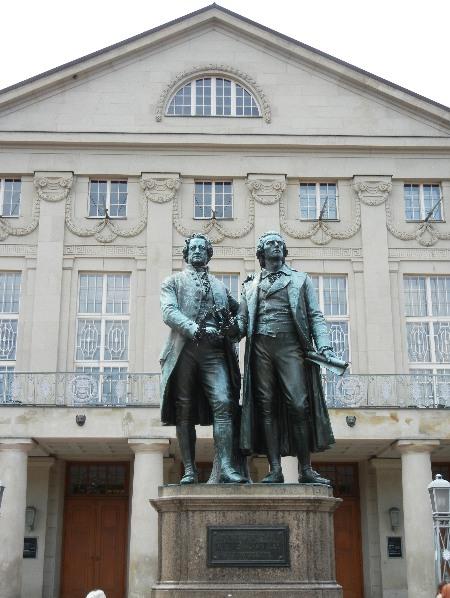 14-Weimar Dichterdenkmal