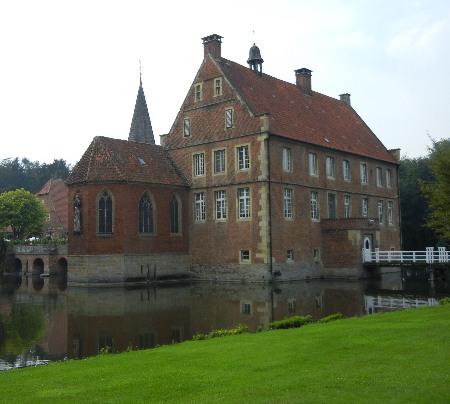 Burg Hülshoff in Münster-Havixbeck